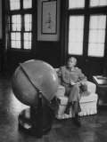 Globe in Office of Chinese President Chiang Kai-Shek in Formosa