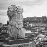 Roman Emperor Hadrian's Remnant Torso Found in Agora Market Place