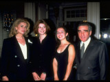 "Catherine Deneuve and Martin Scorsese with their Daughters at NY Premiere of Film ""Belle De Jour"""