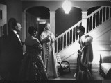 Actress Grace Kelly at Home as She Prepares to Attend the 27th Annual Academy Awards Ceremony