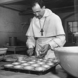 Monk Baking at an Episcopal Monastery
