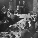 Man Making a Speech at a Macarthur Club Meeting