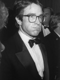 Actor Warren Beatty While Attending Fundraiser for Walter Mondale at the Beverly Hilton Hotel