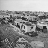 Burned Out Homes in Hatiqvah Area of Tel Aviv