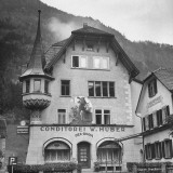"""Typical Swiss """"Pastisserie"""" Near the Tell Monument at Altdorf"""