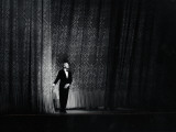 Ballet Master George Balanchine Taking a Curtain Call After Performance  New York State Theater