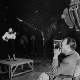 Joseph Pasternak Watching Marcia Van Dyke Play the Violin