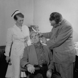 Doctor Examining Patient for Cancer
