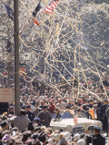 Ticker Tape Parade for Astronaut John Glenn  the First American to Orbit the Earth from Space