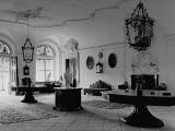 A View Showing the Entrance Hall at Leopoldskron  the Home of Max Reinhardt