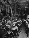 Men and Women Working in the Elgin National Watch Co Factory