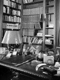 A View of the Surface of Thomas Mann's Working Desk  in His Princeton Home