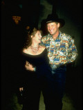 Actor Bruce Boxleitner with Arm around Actress Wife Melissa Gilbert