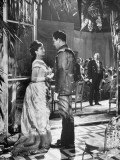 "Actress Vivien Leigh with Kieron Moore in a Scene from ""Anna Karenia"""