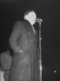 General Secretary Noel Hartnett Addressing His Own Constituents at a Meeting  Dun Laoghaire