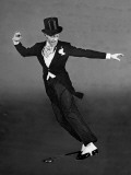 "Fred Astaire in Top Hat  Tails and Spats  Dancing ""Puttin' on the Ritz"" for ""Blue Skies"""