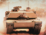 Abrams Main Battle Tank with Improved Protection