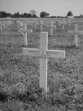 Belgian Grave of Sgt Arnold B Werner