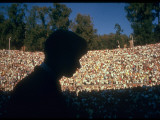 Robert F Kennedy Speaking in Greek Amphitheater