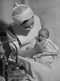 Nurse with Premature Baby