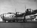 View of the B24 US Army Bomber