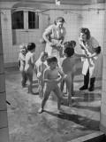 Children Getting a Bath at Orphanage