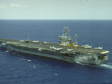Uss Nimitz  Aircraft Carrier  Off VA