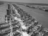 US Liberty Ships Being Fixed Up for Italy