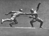 Cecil Howard's Sculpture of Two Men Fencing