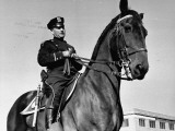 Mounted NYPD Patrolman Frank Brady on Patrol