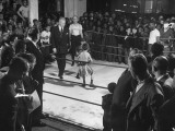 Pennsylvania Governor Duff Refereeing Boys' Boxing Match