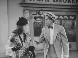 "Actress Joan Bennett and Actor Dan Duryea Performing in Scene from the Movie ""Scarlet Street"""