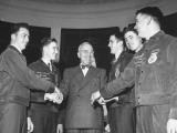 President Harry S Truman Greeting Members of the Future Farmers of America