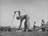 Golfer Dwight D Eisenhower Playing in the Washington Post Golf Tournament
