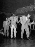 Dancer Bill Robinson Doing Dance Routine with Others