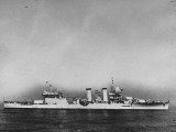 "Photograph of USS ""New Orleans"" Which Was Constructed at Brooklyn Navy Yard"