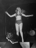 A Dancer Performing in the Old Harvard Bar