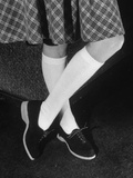 &quot;Cafelet&quot; Knee-High Socks for College Coeds