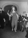 Model Participating in Fashion Show Held by Berlin Couturiers