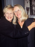 "(L-R): Actress Glenn Close and Sister Jessie at Film Premiere of ""Life Is Beautiful"""