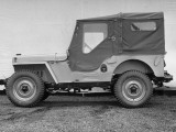 View of a Jeep Now Being Used as a Farm Vehicle