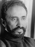 Portrait of Exiled Ethiopian Emporer Haile Selassie