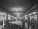 Interior of Dining Hall in BOQ