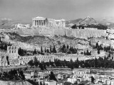 A General View of the Acropolis Overlooking Modern Athens