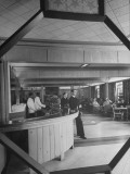 Interior of Bar in Bachelor's Officers Quarters