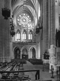 Interior View of the National Cathedral