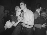 The Aircraft Trip Hammer Operator Dancing with Hs Date at the Lockheed Swing Shift Dance