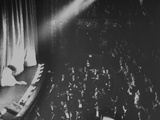 Opera Singer Joan Sutherland Taking Curtain Call