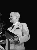 Reunion of 35th Div in Kansas City  President Harry S Truman Giving Speech