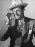 Comedian Phil Silvers Performing